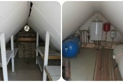 Before and after - Attic